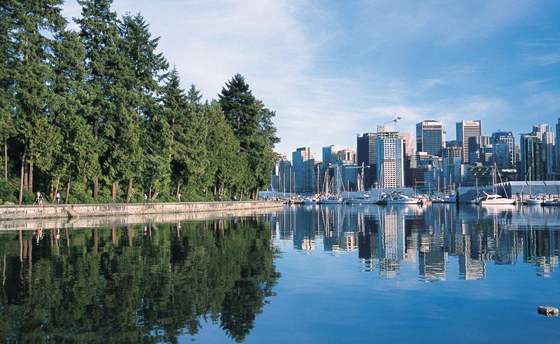 khung cảnh thanh bình ở Canada khiến nhiều người muốn đến sinh sống và định cư