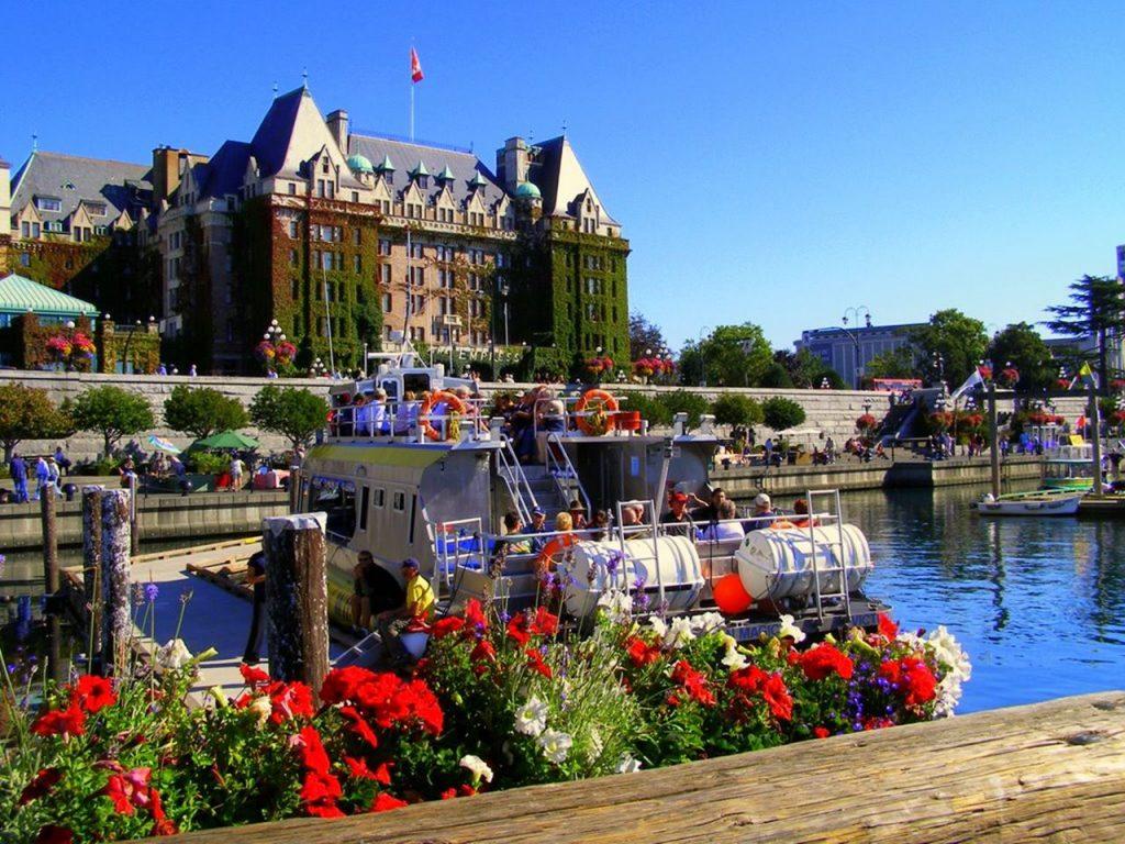 Các thành phố nổi tiếng của Canada