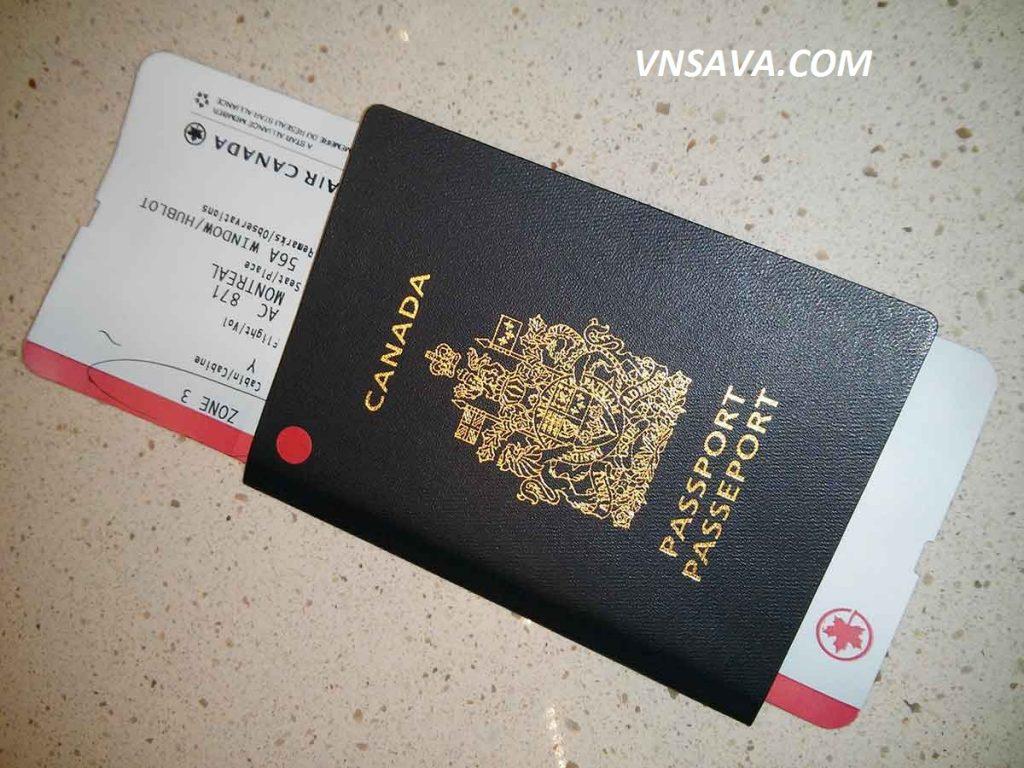 thủ tục xin visa du lịch canada - vnsava.com