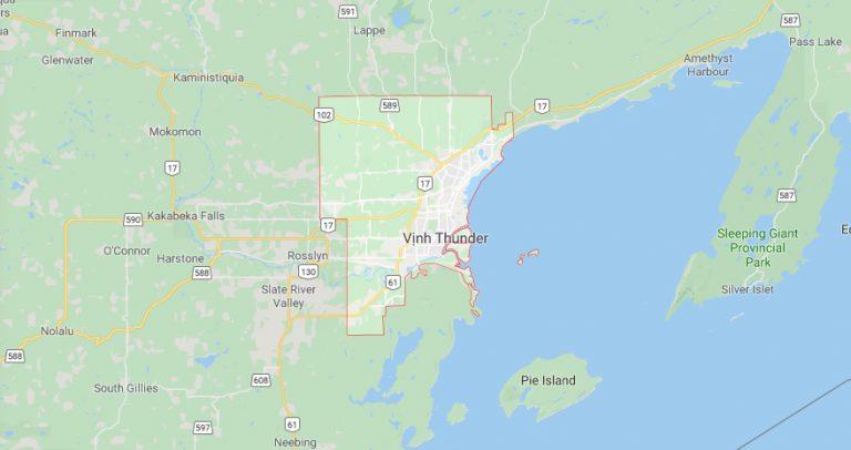 Thunder Bay, Thành phố đông dân khu vực Tây Bắc Ontario, Canada