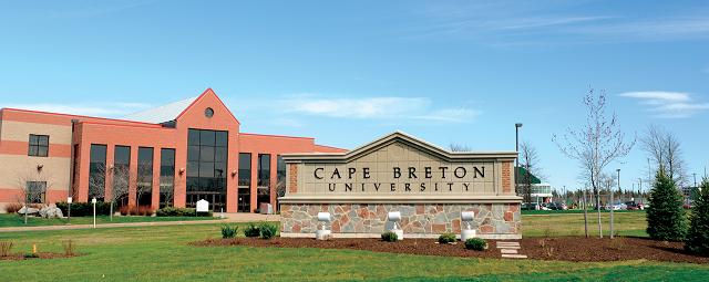 Đại học Cape Breton , Sydney, Nova Scotia