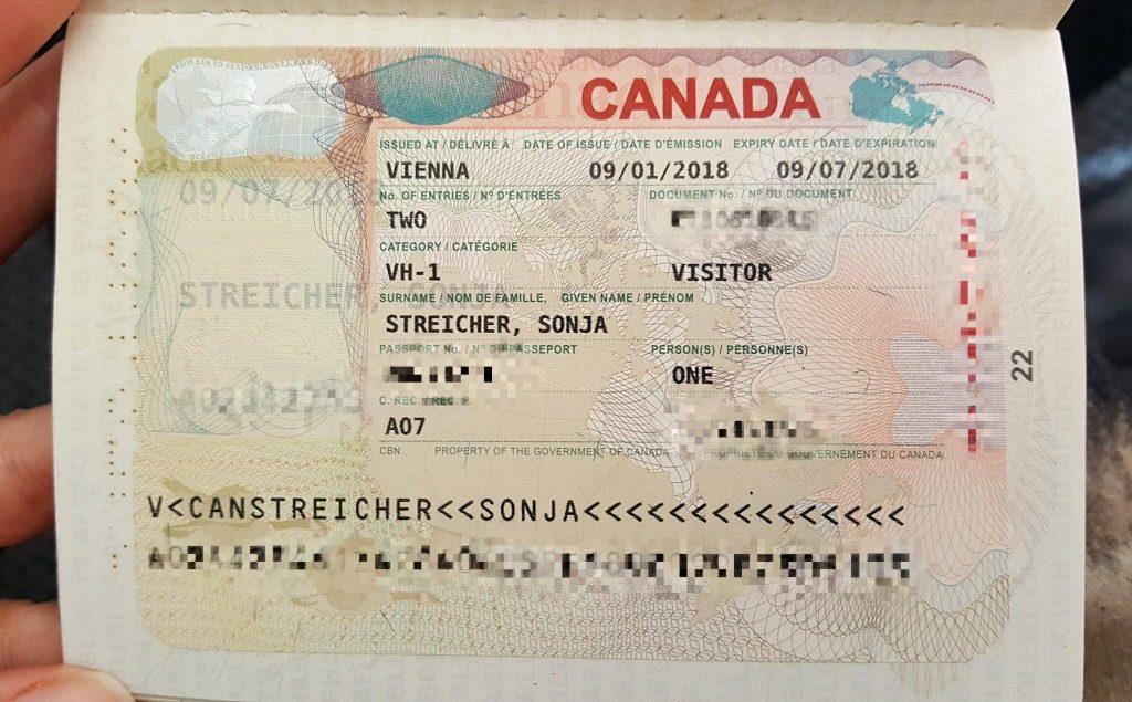 Có visa Canada thì được miễn xin visa quốc gia nào?
