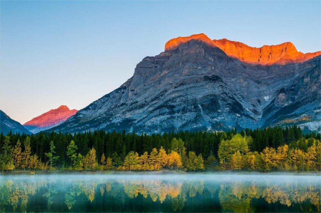 Mùa Thu Canada, thiên đường tràn ngập lá phong