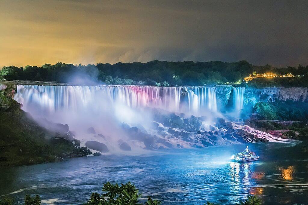 Niagara - một trong 10 thác nước hùng vĩ nhất thế giới