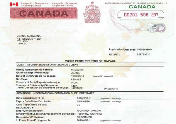 Tìm hiểu về thị thực Chương trình Di trú Canadian Work Permit
